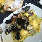 ローマ バチカン付近の地中海レストラン