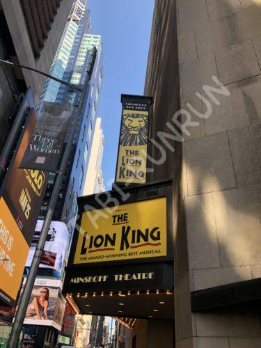 ブロードウェイミュージカル『LION KING』