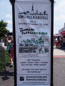スモーガスバーグの看板