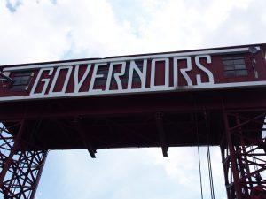 ガバナーズ島の入り口