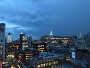 ホイットニー美術館夜景
