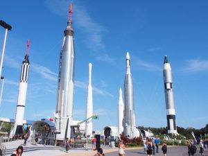 NASA ロケットガーデン