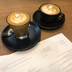 インダストリービーンズのコーヒー