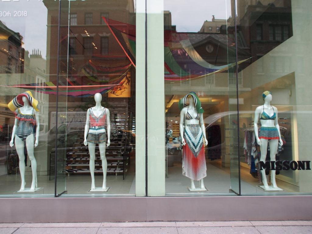 ゴシップガールのセリーナが着ていたドレスのお店missoni
