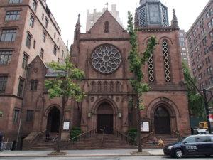 ブレアとロイの結婚式会場「聖ジェームズ教会」