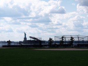 ガバナーズ島の野球場