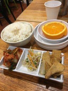 韓国料理お通し