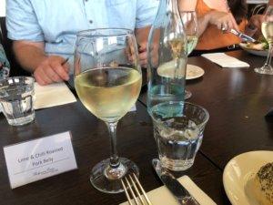 ランチ 白ワイン