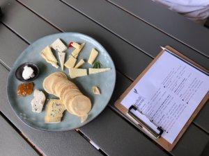チーズ食べ比べ