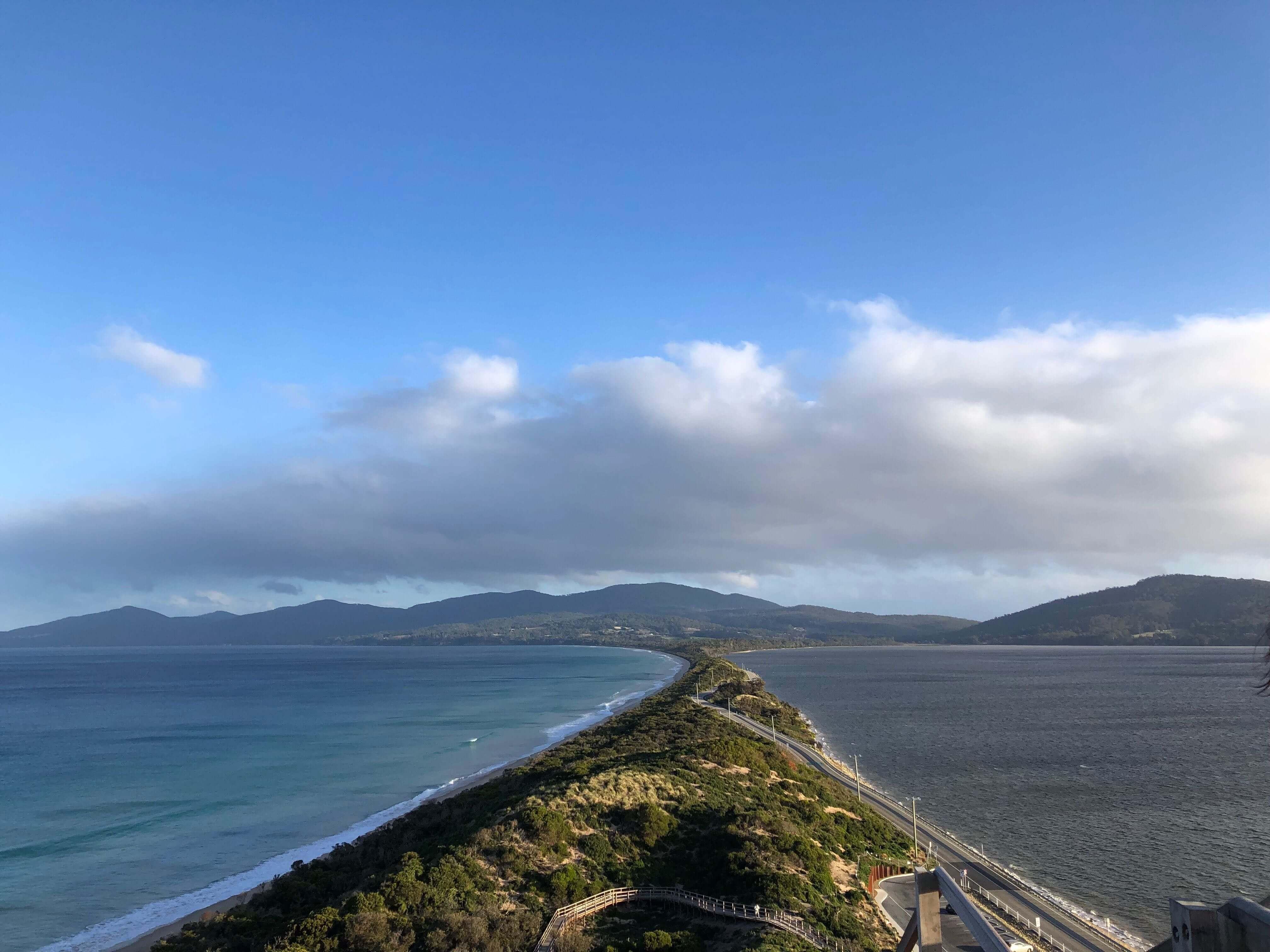 ブルーニー島の絶景