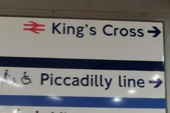 地下鉄からの9と4分の3番線への行き方