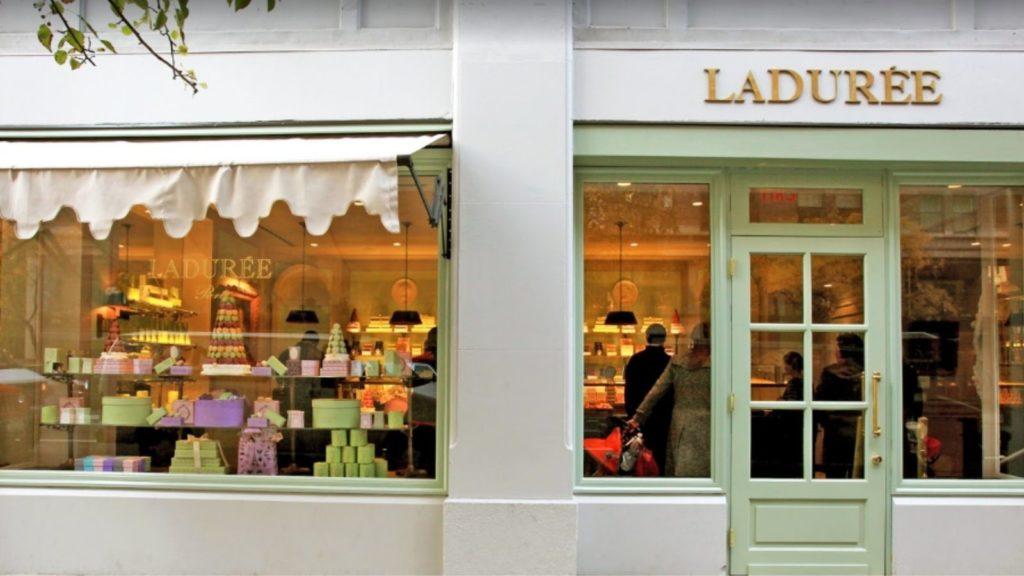 ゴシップガールのブレアの大好きなニューチークの「Ladurée」