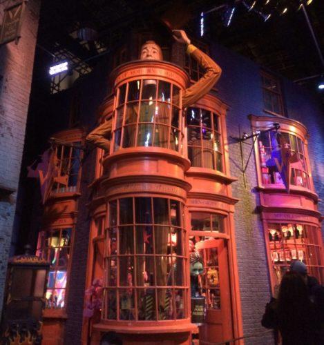 ロンドン「ハリーポッタースタジオ」へ行った話!「ダイアゴン横丁」